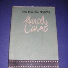 Libros antiguos: CINE REALISTA FRANCES - MARCEL CARNE , PUBLICACIONES DEL CINE-CLUB UNIVERSITARIO DEL SEU -1 - BARCEL. Lote 33299292