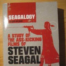 Libros antiguos: STEVEN SEAGAL. ESTUDIO SOBRE SU FILMOGRAFÍA.. Lote 34999390