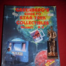 Libros antiguos: GREENBER'S GUIDE TO STAR TREK COLLECTIBLES VOLUMEN 1-2-3. Lote 35346354