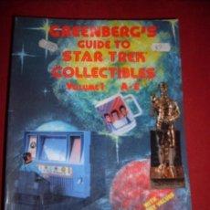 Alte Bücher - GREENBER'S GUIDE TO STAR TREK COLLECTIBLES VOLUMEN 1-2-3 - 35346354