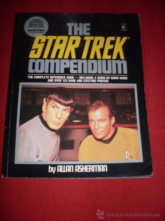 STAR TREK - COMPENDIUM - BY ALLAN ASHERMAN (Libros Antiguos, Raros y Curiosos - Bellas artes, ocio y coleccion - Cine)