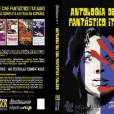 Libros antiguos: ANTOLOGIA DEL CINE FANTASTICO ITALIANO (QUATERMASS Nº7). Lote 206179067