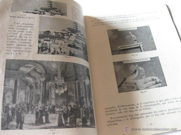 Libros antiguos: ANTIGUO LIBRO O FOLLETO DE CINE CINESCOLA - EL TRUCAJE - Foto 2 - 39510391