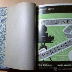 Libros antiguos: EL CINEMA Y SUS MISTERIOS. MÉNDEZ LEITE, 1ª EDICIÓN LUJO 1934. Lote 47496604