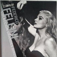 Libros antiguos: FEDERICO FELLINI - ANGEL QUINTANA - CAHIERS DU CINEMA. Lote 48461761