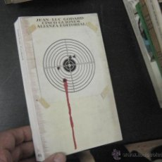Libros antiguos: CINCO GUIONES, GODARD, JEAN LUC, ALIANZA BUEN ESTADO, A BOUT DE SOUFFLE... CINE. Lote 50484845
