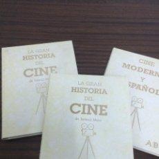 Libros antiguos: LA GRAN HISTORIA DEL CINE TERENCI MOIX. Lote 51375427