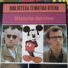 Libros antiguos: LIBRO HISTORIA DEL CINE BIBLIOTECA TEMATICA UTEHA . Lote 52017373