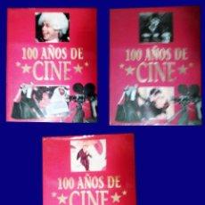 Libros antiguos: CINE - 100 AÑOS DE .. - VOLUMENES 1, 2 Y 3 - ABUNDANTES ILUSTRACIONES - BARCELONA. R. B. A. ED. 1995. Lote 52692529