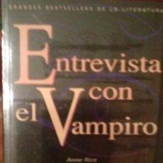 Libros antiguos: LIBRO ENTREVISTA CON EL VAMPIRO. Lote 52938234