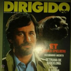 Livros antigos: LIBROS CINE - DIRIGIDO POR 98 - ET STEVEN SPIELBERG - SETMANA DE BARCELONA - GUTIERREZ ARAGON. Lote 53355116