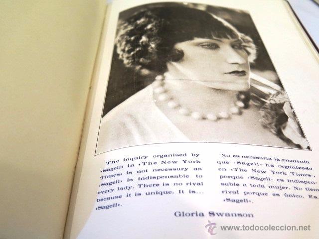 Libros antiguos: Sagell. Un mito resuelto. Fotografías actrices Hollywood. Años 20. - Foto 3 - 54312824