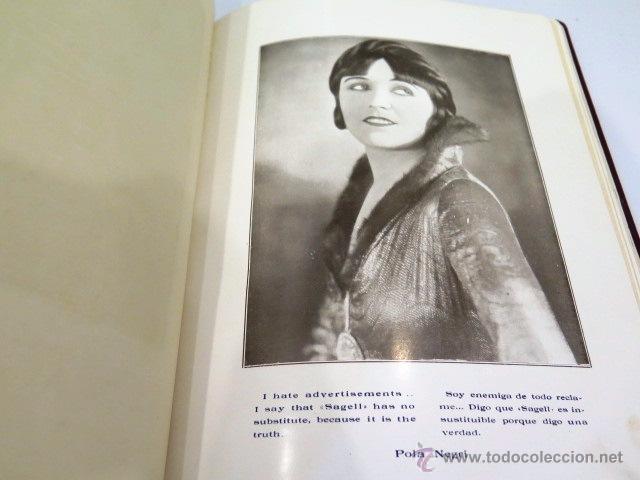 Libros antiguos: Sagell. Un mito resuelto. Fotografías actrices Hollywood. Años 20. - Foto 4 - 54312824