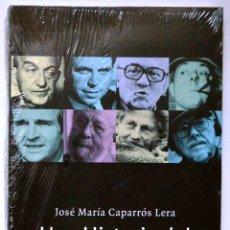 Libros antiguos: UNA HISTORIA DEL CINE A TRAVÉS DE OCHO MAESTROS. JOSÉ Mª CAPARRÓS LERA. EJMEPLAR NUEVO.. Lote 56835395