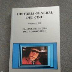Libros antiguos: HISTORIA GENERAL DEL CINE VOLUMEN XII. EL CINE EN LA ERA AUDIOVISUAL. Lote 136572516