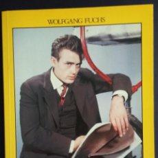 Libros antiguos: LIBRO JAMES DEAN DE WOLFGANG J. FUCHS CON MULTITUD DE FOTOS Y UN POSTER. . Lote 57495108