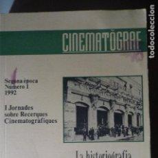 Libros antiguos: LIBRO CATALAN CINEMATOGRAF -LA HISTORIA CINEMATOGRAFICA A CATALUÑA-- 2 EPOCA NUM.1 402 PAG.. Lote 66962126