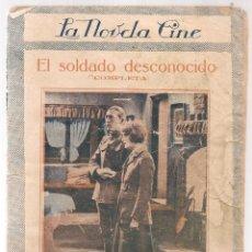 Libros antiguos: EL SOLDADO DESCONOCIDO INTERPRETADA POR MARGUERITA DE LA MOTE C.A. 1920 PRIMERA EDICIÓN LA. Lote 68155957