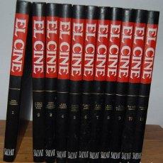 Libros antiguos: EL CINE, ENCICLOPEDIA SALVAT DEL 7º ARTE (11 VOL.). Lote 73720531