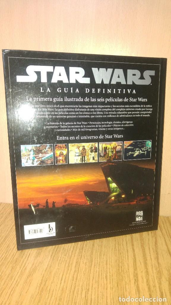Libros antiguos: STAR WARS. LA GUÍA DEFINITIVA - Foto 2 - 74243559