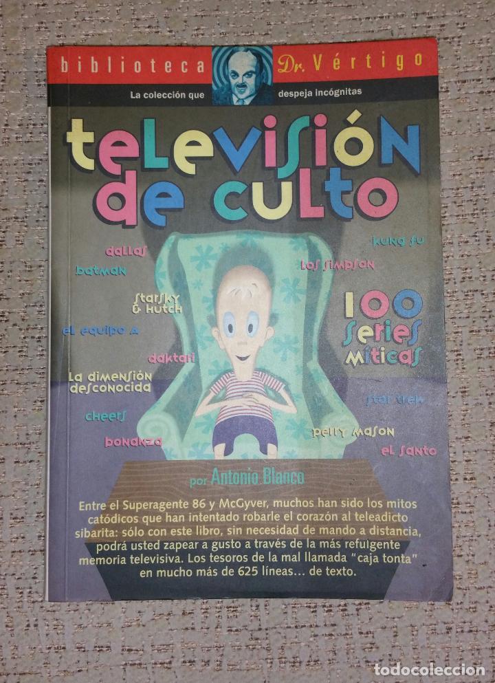 BIBLIOTECA DOCTOR VÉRTIGO Nº 6 - TELEVISIÓN DE CULTO (GLENAT) DESCATALOGADO (Libros Antiguos, Raros y Curiosos - Bellas artes, ocio y coleccion - Cine)