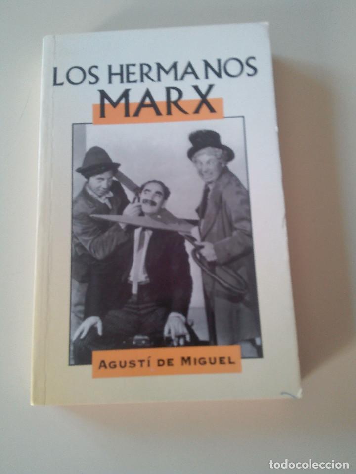 Libros antiguos: LOTE 2 LIBROS-LOS HERMANOS MARX-CHARLES CHAPLIN-EDITADO POR EDIMAT LIBROS-1998- - Foto 2 - 83278052