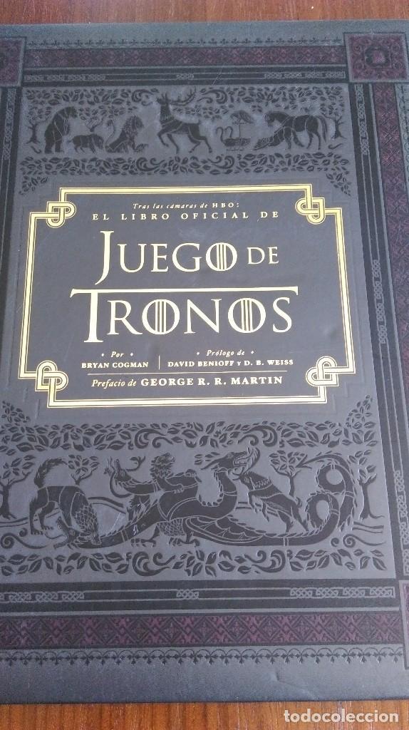 El libro oficial de Juego de Tronos. Bryan Cogman