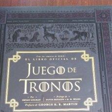 Libros antiguos: EL LIBRO OFICIAL DE JUEGO DE TRONOS. BRYAN COGMAN. Lote 86487684