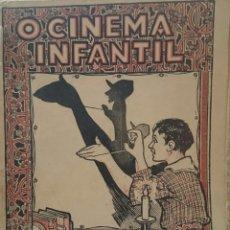Libros antiguos: LIBRO INFANTIL SOMBRAS CHINESCAS, EN PORTUGUÉS, MUY RARO,ORIGINAL, VED LAS FOTOS. Lote 90037827