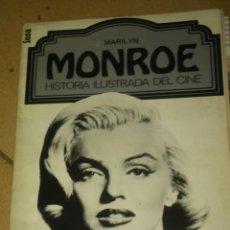 Libros antiguos: MARILYN MONROE.HISTORIA ILUSTRADA DEL CINE. Lote 90909270
