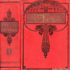 Libros antiguos: TRAS LA PANTALLA NÚMEROS 32 A 62 (1921) TOM MIX, JACK DEMPSEY, ETC.. Lote 95761855