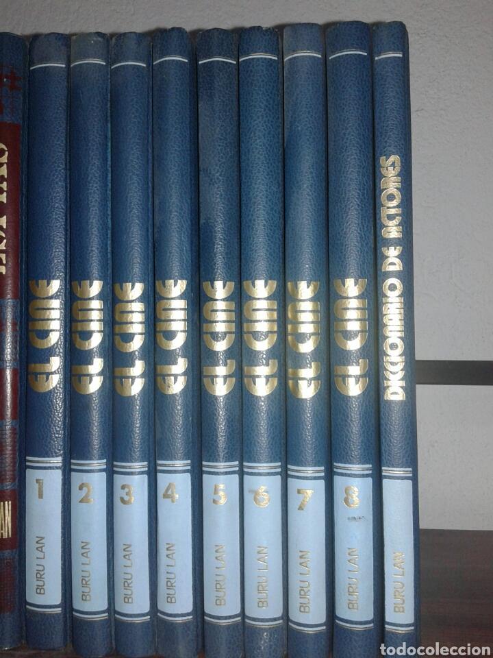 ENCICLOPEDIA EL CINE DICCIONARIO DE ACTORES BURU LAN 8 TOMOS EDICIÓN COMPLETA (Libros Antiguos, Raros y Curiosos - Bellas artes, ocio y coleccion - Cine)