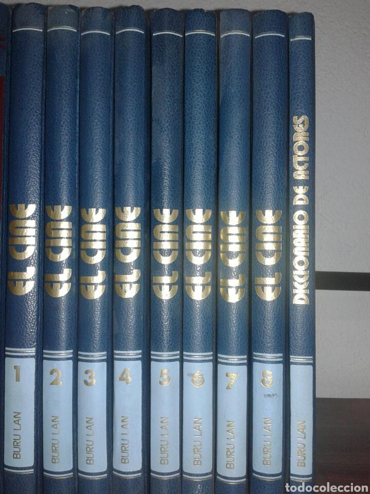 Libros antiguos: Enciclopedia el cine diccionario de actores Buru Lan 8 tomos edición completa - Foto 2 - 104826619