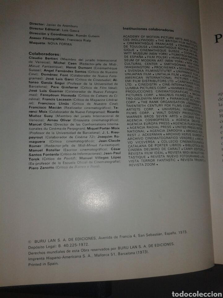 Libros antiguos: Enciclopedia el cine diccionario de actores Buru Lan 8 tomos edición completa - Foto 4 - 104826619