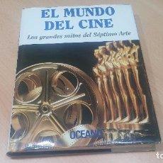 Libros antiguos: EL MUNDO DEL CINE, FASCINANTE LIBRO QUE CUENTA LA HISTORIA DEL CINE. Lote 99910091