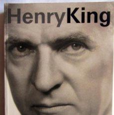 Libros antiguos: HENRY KING. DONOSTIA ZINEMALDIA FESTIVAL DE CINE DE SAN SEBASTIÁN. FILMOTECA ESPAÑOLA. 2007. Lote 100521171