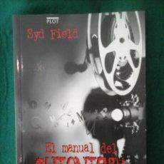 Libros antiguos: EL MANUAL DEL GUIONISTA - EJERCICIOS E INSTRUCCIONES PARA ESCRIBIR UN BUEN GUIÓN- SYD FIELD. Lote 101127207