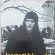 Libros antiguos: ACERCA DE ANDREI TARKOVSKI - VARIOS AUTORES - JOSEPHSON - NYKVIST - ZANUSSI - KONCHALOVSKI . Lote 101735403
