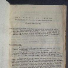 Libros antiguos: UNA BANDERA AL VIENTO - GUION CINEMATOGRÁFICO - GUERRA DEL RIF O DE ÁFRICA - HISTORIA - CINE. Lote 105857111
