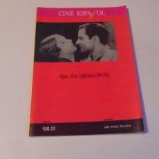 Livres anciens: CINE ESPAÑOL-ALGUNOS JALONES SIGNIFICATIVOS. Lote 106593211