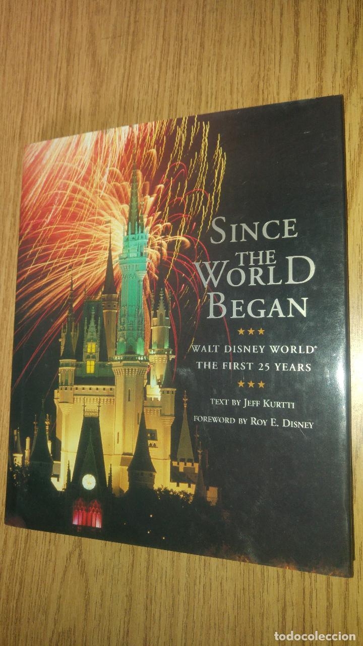 SINCE THE WORLD BEGAN. THE WALT DISNEY WORLD (Libros Antiguos, Raros y Curiosos - Bellas artes, ocio y coleccion - Cine)