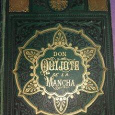 Libros antiguos: QUIJOTE MUY ANTIGUO, AÑO 1883, 2EDICION. Lote 110035987