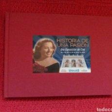 Libros antiguos: LIBRO HISTORIA DE UNA PASION, EXPOSICIÓN DE CINE. Lote 47079865