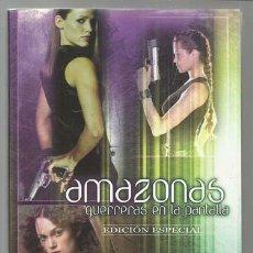 Libros antiguos: AMAZONAS: GUERRERAS EN LA PANTALLA, 2008, ALBERTO SANTOS, MUY BUEN ESTADO. Lote 113432059