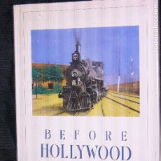 Libros antiguos: F1 BEFORE HOLLIWOOD TURN-OF-CENTURY AMERICAN FILM. Lote 117106919