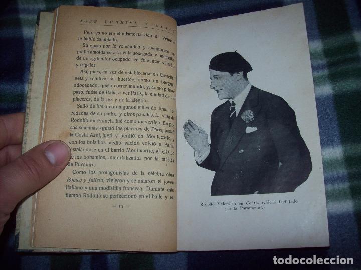 EL ÍDOLO DE LAS MUJERES. RODOLFO VALENTINO. NARRACIÓN VERIDICA DE LOS AMORES Y VIDA DEL...1929 (Libros Antiguos, Raros y Curiosos - Bellas artes, ocio y coleccion - Cine)
