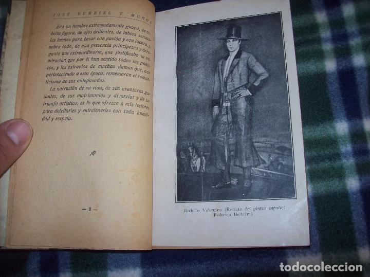 Libros antiguos: EL ÍDOLO DE LAS MUJERES. RODOLFO VALENTINO. NARRACIÓN VERIDICA DE LOS AMORES Y VIDA DEL...1929 - Foto 4 - 121823751