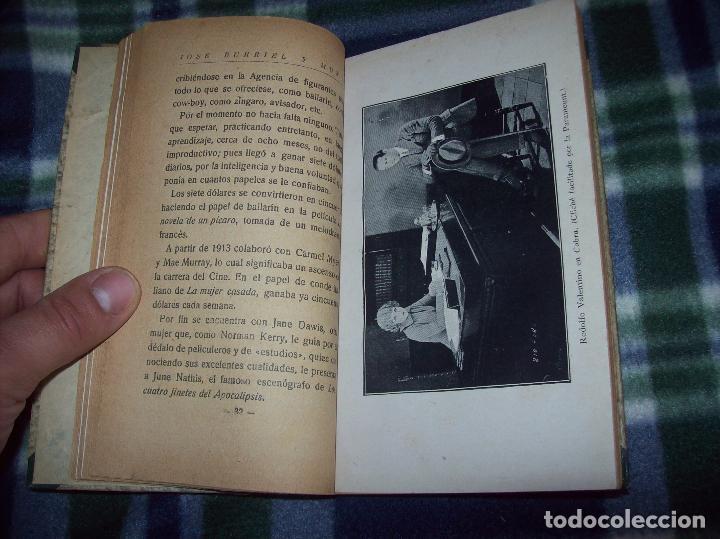 Libros antiguos: EL ÍDOLO DE LAS MUJERES. RODOLFO VALENTINO. NARRACIÓN VERIDICA DE LOS AMORES Y VIDA DEL...1929 - Foto 6 - 121823751