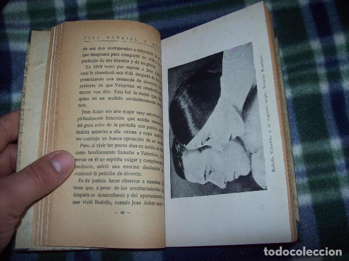 Libros antiguos: EL ÍDOLO DE LAS MUJERES. RODOLFO VALENTINO. NARRACIÓN VERIDICA DE LOS AMORES Y VIDA DEL...1929 - Foto 7 - 121823751
