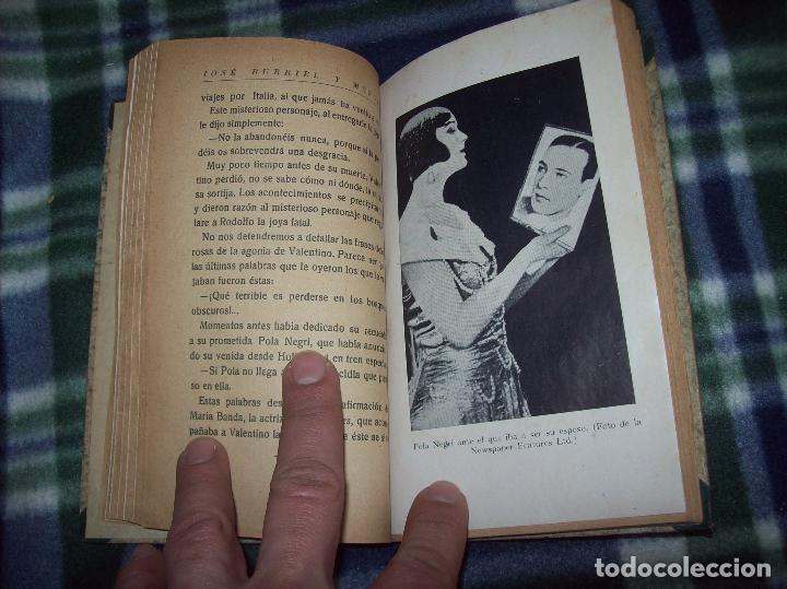Libros antiguos: EL ÍDOLO DE LAS MUJERES. RODOLFO VALENTINO. NARRACIÓN VERIDICA DE LOS AMORES Y VIDA DEL...1929 - Foto 9 - 121823751